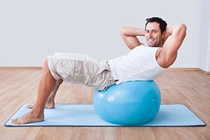 Pilates Abdominal Work on Stability Ball: Beginner ...